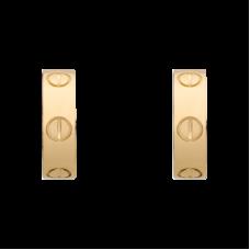 Серьги из красного золота